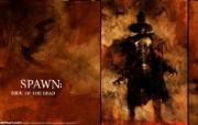 麦克法兰的黑暗漫画Spawn再生侠壁纸 动漫壁纸