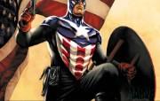 Marvel漫画英雄美国上尉 动漫壁纸