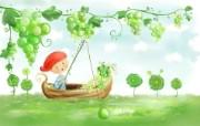 美丽童话风景手绘宽屏壁纸 1920x1200 壁纸1 美丽童话风景手绘宽屏 动漫壁纸