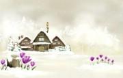 美丽童话风景手绘宽屏壁纸 1920x1200 壁纸5 美丽童话风景手绘宽屏 动漫壁纸