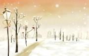 美丽童话风景手绘宽屏壁纸 1920x1200 壁纸17 美丽童话风景手绘宽屏 动漫壁纸