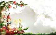 美丽童话风景手绘宽屏壁纸 1920x1200 壁纸19 美丽童话风景手绘宽屏 动漫壁纸