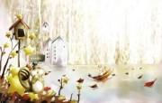 美丽童话风景手绘宽屏壁纸 1920x1200 壁纸20 美丽童话风景手绘宽屏 动漫壁纸