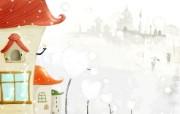 美丽童话风景手绘宽屏壁纸 1920x1200 壁纸26 美丽童话风景手绘宽屏 动漫壁纸