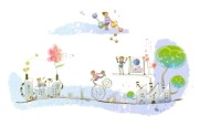 梦想童年卡通壁纸 动漫壁纸
