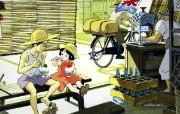 梦想与飞翔的世界宫崎骏和吉卜力经典动画作品宽屏壁纸 动漫壁纸