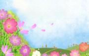 水彩风格 童话秋天壁纸 动漫壁纸