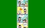 四格漫画 动漫壁纸