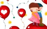 童年的回忆 可爱卡通女孩壁纸 壁纸3 童年的回忆 可爱卡通 动漫壁纸