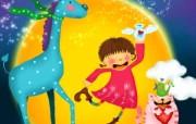 童年的回忆 可爱卡通女孩壁纸 壁纸10 童年的回忆 可爱卡通 动漫壁纸