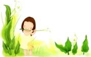 我的童话世界 可爱卡通壁纸 壁纸2 我的童话世界 可爱卡 动漫壁纸