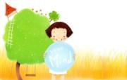 我的童话世界 可爱卡通壁纸 壁纸5 我的童话世界 可爱卡 动漫壁纸