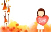 我的童话世界 可爱卡通壁纸 壁纸6 我的童话世界 可爱卡 动漫壁纸