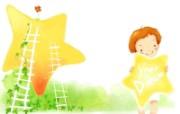 我的童话世界 可爱卡通壁纸 壁纸7 我的童话世界 可爱卡 动漫壁纸