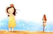 我的童话世界 可爱卡通壁纸 壁纸8 我的童话世界 可爱卡 动漫壁纸