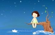 我的童话世界 可爱卡通壁纸 壁纸13 我的童话世界 可爱卡 动漫壁纸