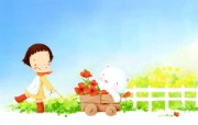 我的童话世界 可爱卡通壁纸 壁纸14 我的童话世界 可爱卡 动漫壁纸