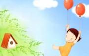 我的童话世界 可爱卡通壁纸 壁纸17 我的童话世界 可爱卡 动漫壁纸