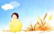 我的童话世界 可爱卡通壁纸 壁纸18 我的童话世界 可爱卡 动漫壁纸