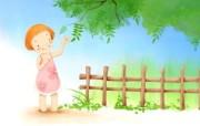 我的童话世界 可爱卡通壁纸 壁纸23 我的童话世界 可爱卡 动漫壁纸