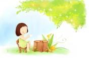 我的童话世界 可爱卡通壁纸 壁纸26 我的童话世界 可爱卡 动漫壁纸