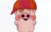 香港卡通猪麦兜壁纸 动漫壁纸