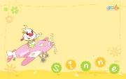 辛巴狗和哈米兔壁纸-飞行梦系列 壁纸6 辛巴狗和哈米兔壁纸- 动漫壁纸