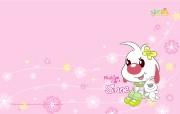 辛巴狗和哈米兔壁纸-飞行梦系列 壁纸8 辛巴狗和哈米兔壁纸- 动漫壁纸