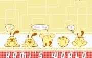 辛巴狗和哈米兔壁纸-飞行梦系列 壁纸9 辛巴狗和哈米兔壁纸- 动漫壁纸
