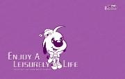 辛巴狗和哈米兔壁纸-飞行梦系列 壁纸24 辛巴狗和哈米兔壁纸- 动漫壁纸