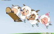 喜羊羊与灰太狼桌面壁纸 喜羊羊与灰太狼桌面壁纸 动漫壁纸