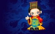 中国风格 卡通壁纸 动漫壁纸