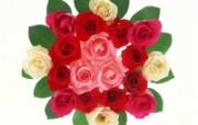 花团锦簇鲜花壁纸 动物壁纸
