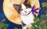 Jane Maday 手绘猫咪壁纸 动物壁纸