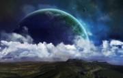 3D星空 风景壁纸