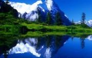 阿尔卑斯山 风景壁纸