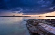 超大海滨海岸 风景壁纸