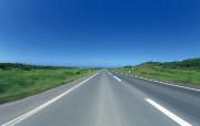 道路主题摄影 风景壁纸