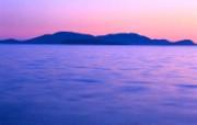 大自然纯朴之美 日落下柔和海滩壁纸图片壁纸 大自然纯朴之美 风景壁纸