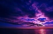 大自然纯朴之美 云的色彩 天空的画布壁纸图片壁纸 大自然纯朴之美 风景壁纸