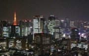光与影交织的圣宴东京的夜景 风景壁纸