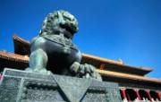 古典与现代 北京风光 风景壁纸