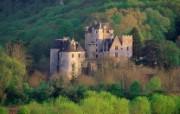 国外古迹城堡 宽屏壁 风景壁纸