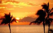 黄昏日落景色 Sunset Scene 风景壁纸