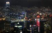 宽屏城市夜景桌面壁纸 风景壁纸