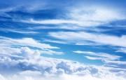 蓝天白云壁纸 蓝天白云壁纸 风景壁纸