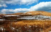 蓝天白云第二辑雪景 风景壁纸
