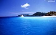 美丽岛物语冲绳夏日沙滩 风景壁纸