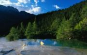 美丽中国:山水如画高 风景壁纸