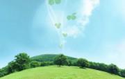 梦幻大自然绿色环境主题PS壁纸第一集 风景壁纸